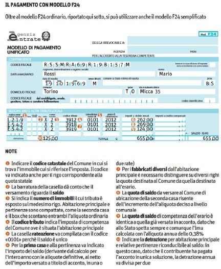 Tasi e imu 2014 calcolo online pagamento prima casa - Come si calcola l imu sulla seconda casa ...