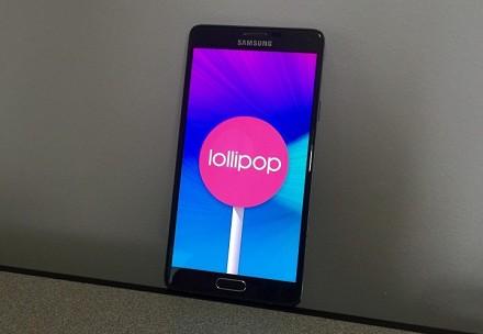 Android 5, 5.1, 5.1.1: aggiornamento Sam