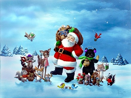 Auguri di Natale animati per meravigliar