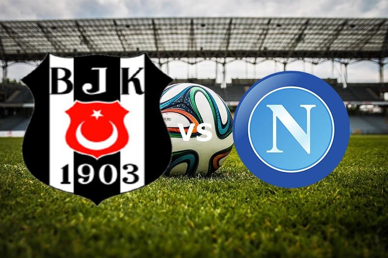 Besiktas-Napoli streaming della partite