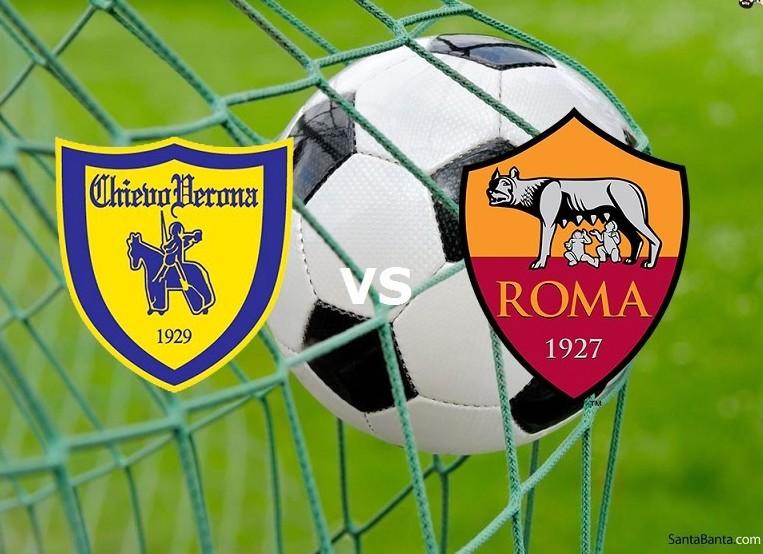 Chievo Roma streaming live gratis dirett