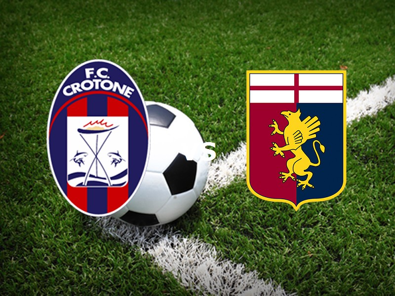 Crotone Genoa streaming live gratis link