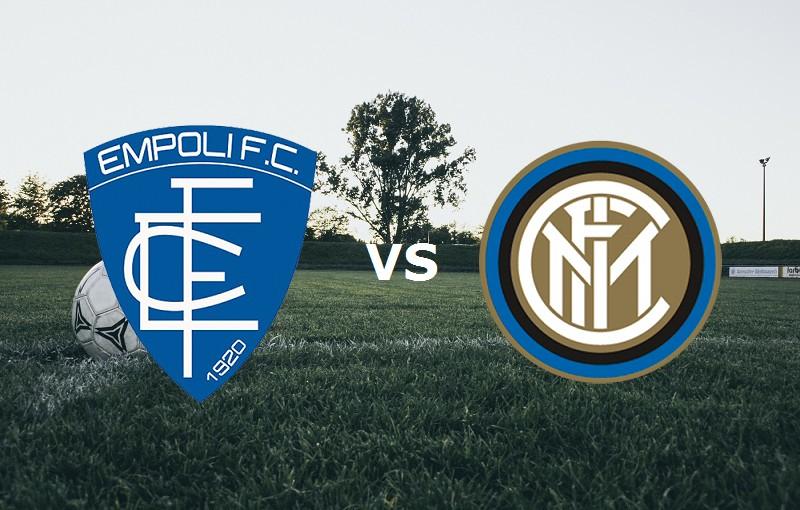 Empoli Inter streaming gratis live diret