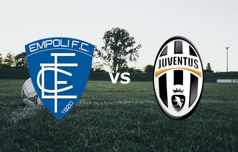 Empoli Juventus streaming per vedere sit