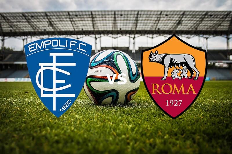 Empoli Roma streaming. Vedere