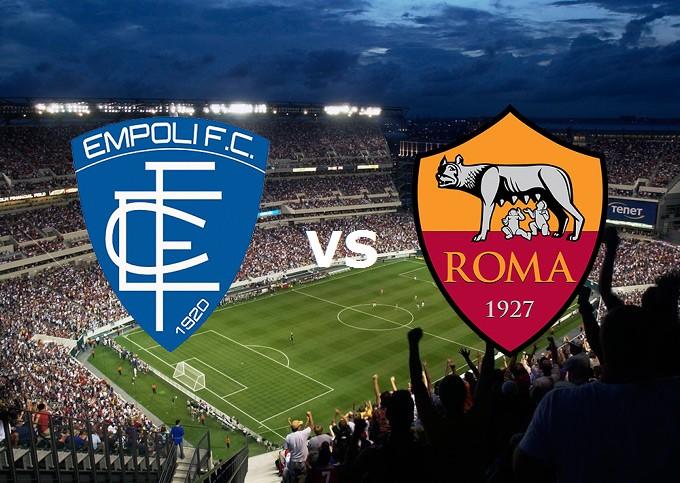 Empoli Roma streaming gratis live. Veder