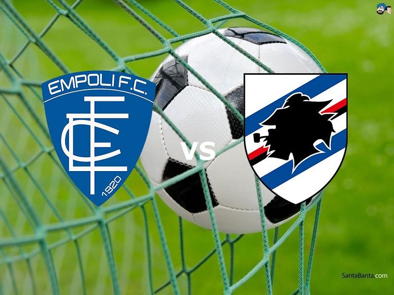 Empoli Sampdoria streaming live gratis l