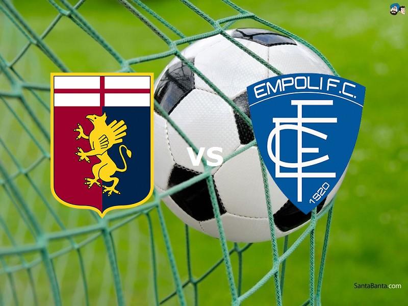 Genoa Empoli streaming gratis live diret