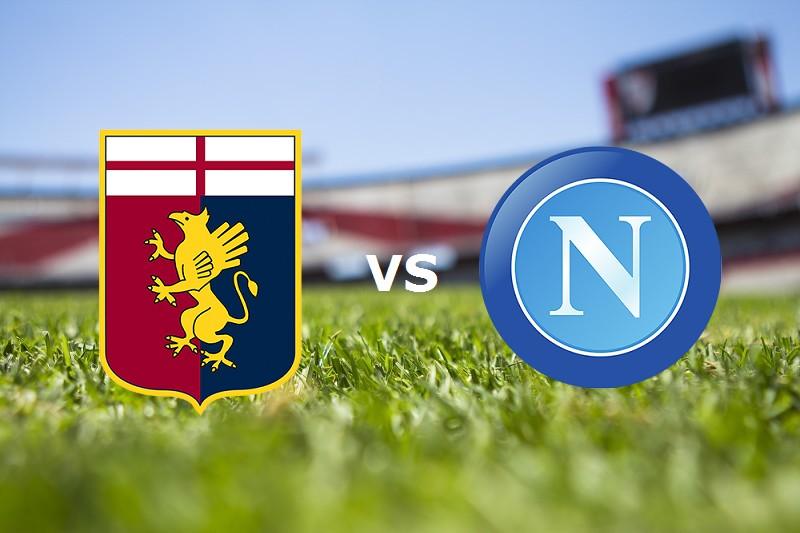 Napoli Genoa streaming gratis live. Dove