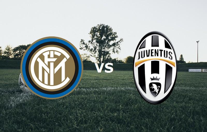 Juventus Inter streaming in chiaro. Dove