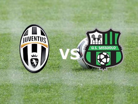 Juventus Sassuolo streaming live gratis.
