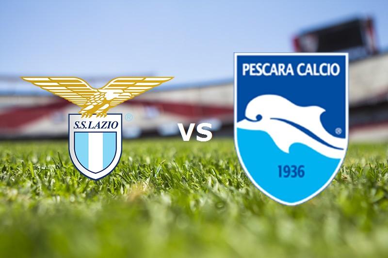 Lazio Pescara streaming live gratis. Dov