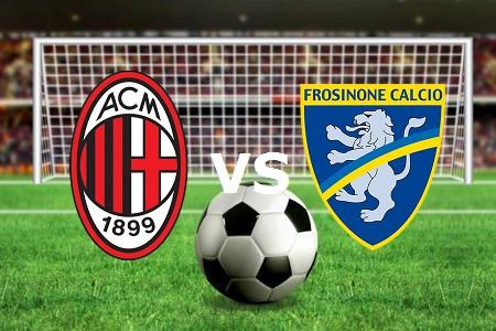 Milan Frosinone streaming gratis live li