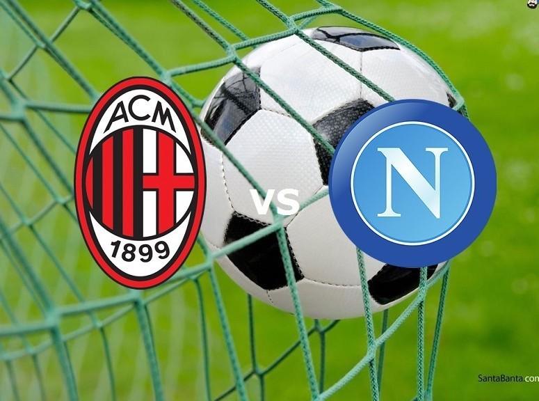 Milan Napoli streaming live gratis. Dove