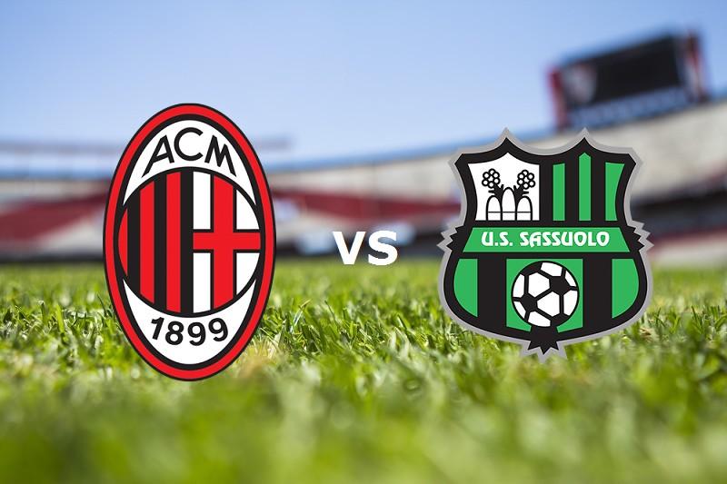 Milan Sassuolo streaming gratis live. Ve