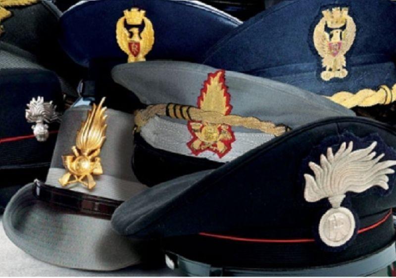 Militari e forze dell'ordine: aument