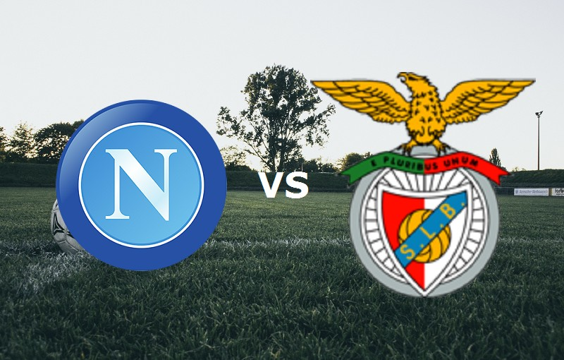 Napoli Benfica vedere streaming live dir