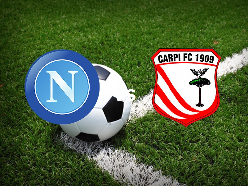 Napoli Carpi streaming gratis dopo strea
