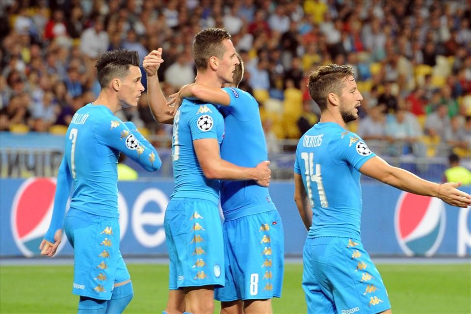 Napoli Real Madrid streaming gratis dire