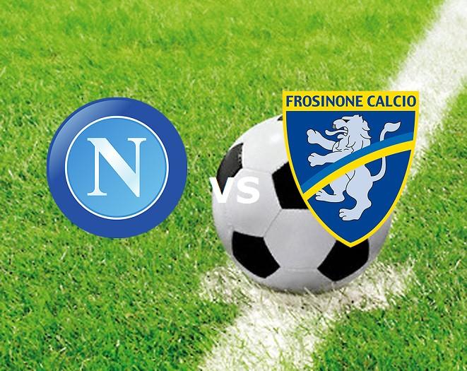 Napoli Frosinone streaming gratis live l