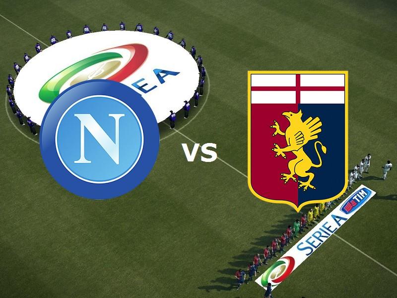 Napoli Genoa streaming live gratis. Dove