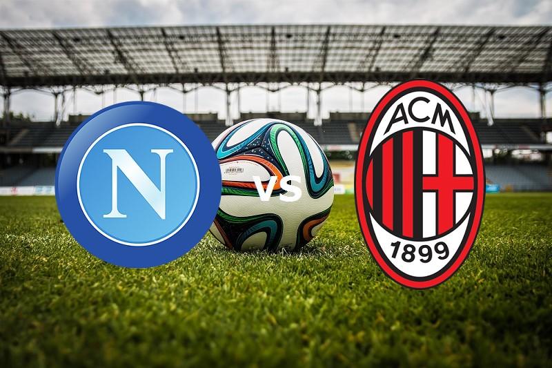 Milan Napoli streaming. Vedere gratis li