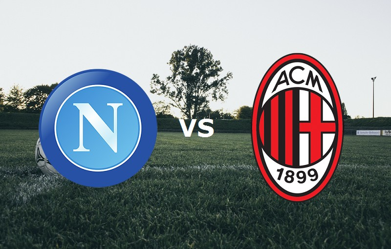 Napoli Milan streaming gratis live. Dove