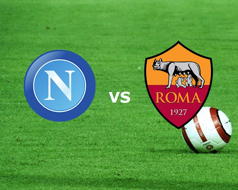 Napoli Roma streaming live gratis dirett