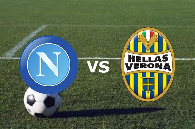 Napoli Verona streaming gratis live. Ved