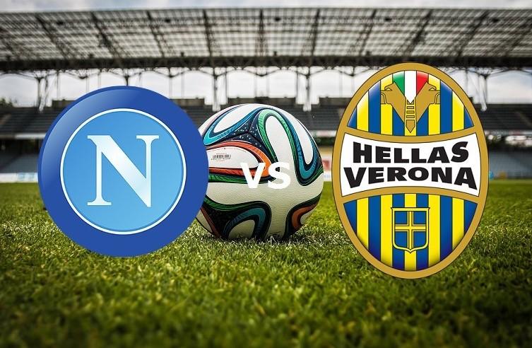 Napoli Verona streaming live gratis. Ved