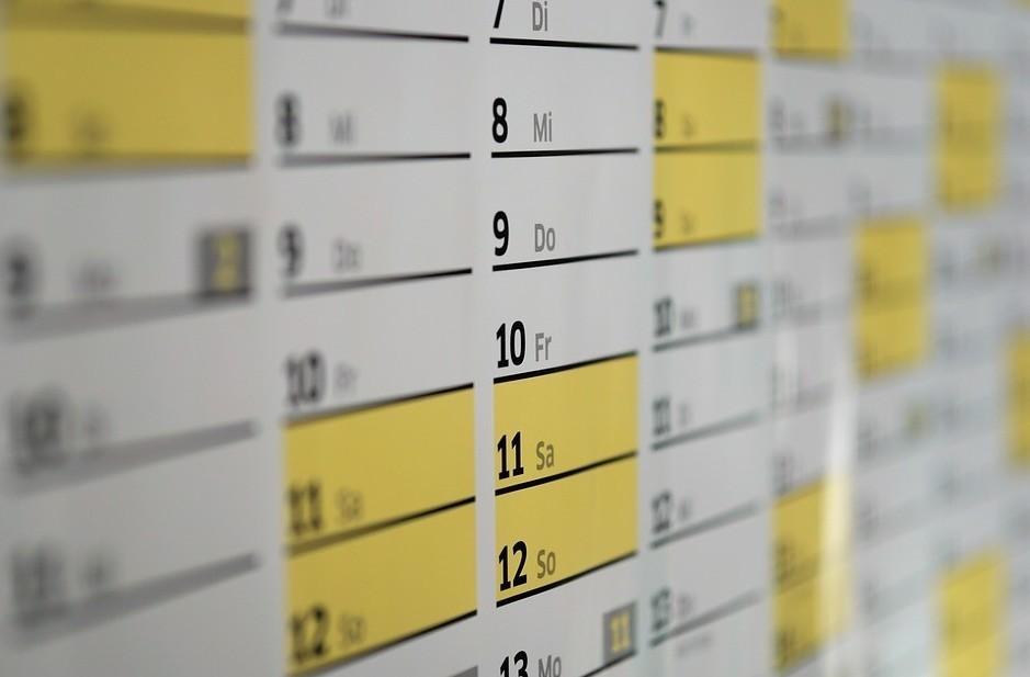 Calendario Fisco nuovo: gli appuntamenti
