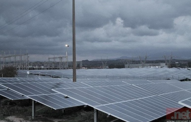 Ottana: impianto solare sperimentale inn
