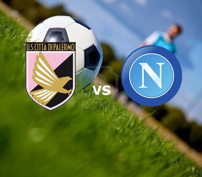 Palermo Napoli streaming live gratis. Ve