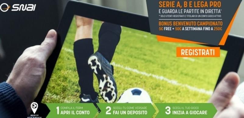 Partite streaming adesso Sampdoria Pesca