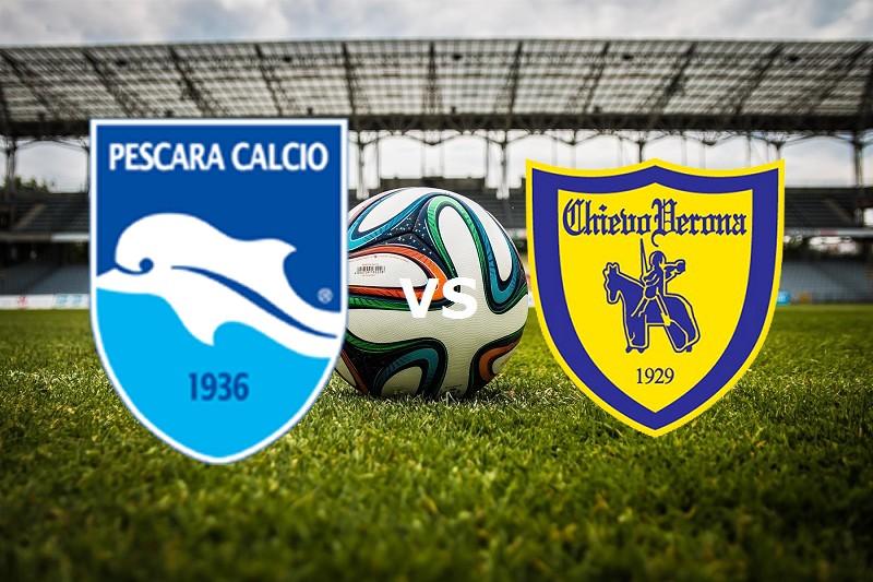 Pescara Chievo streaming live gratis. Do