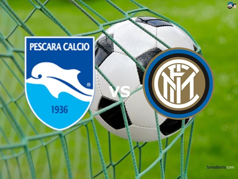 Inter Pescara streaming live gratis. Dov