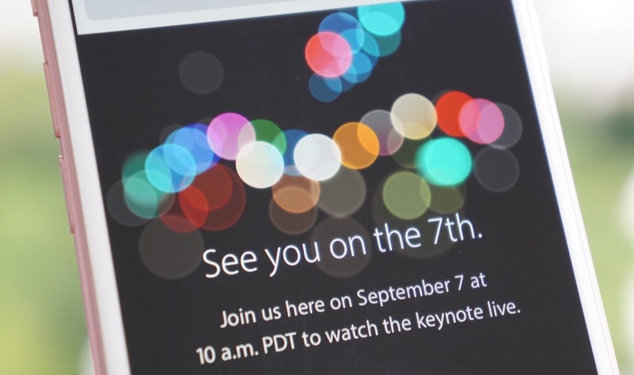 Iphone 7 presentazione ufficiale oggi al