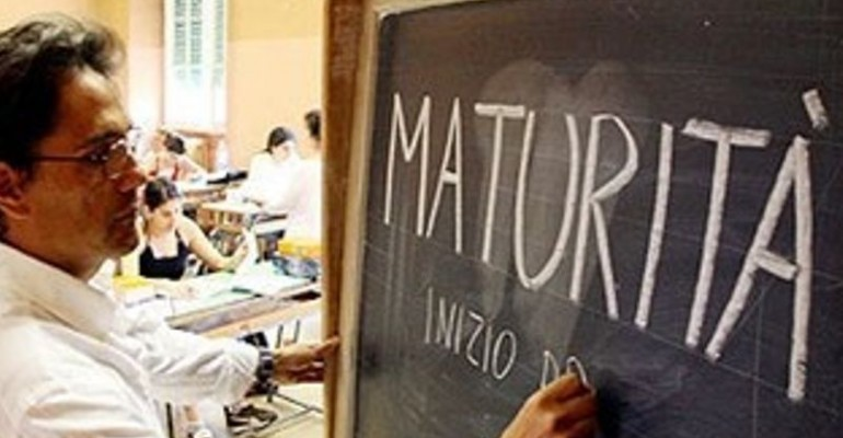 Prova matematica e italiano maturità 201