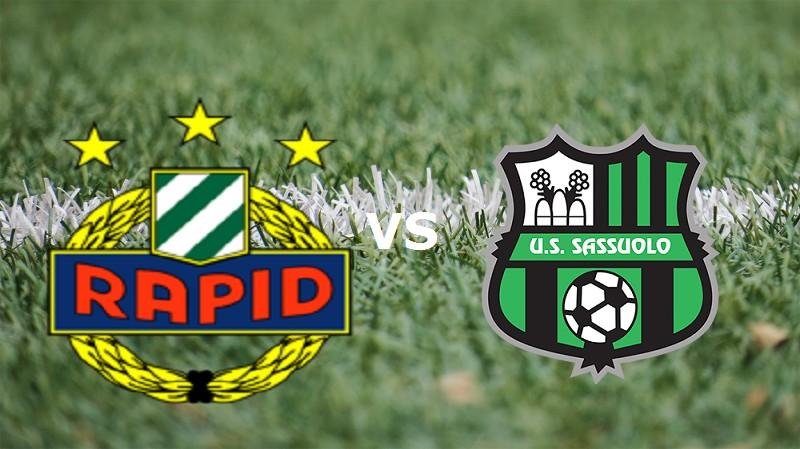 Rapid Vienna Sassuolo streaming gratis l