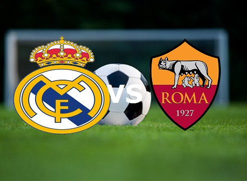 Vedere Real Madrid Roma streaming gratis