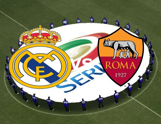 Real Madrid Roma streaming gratis live.