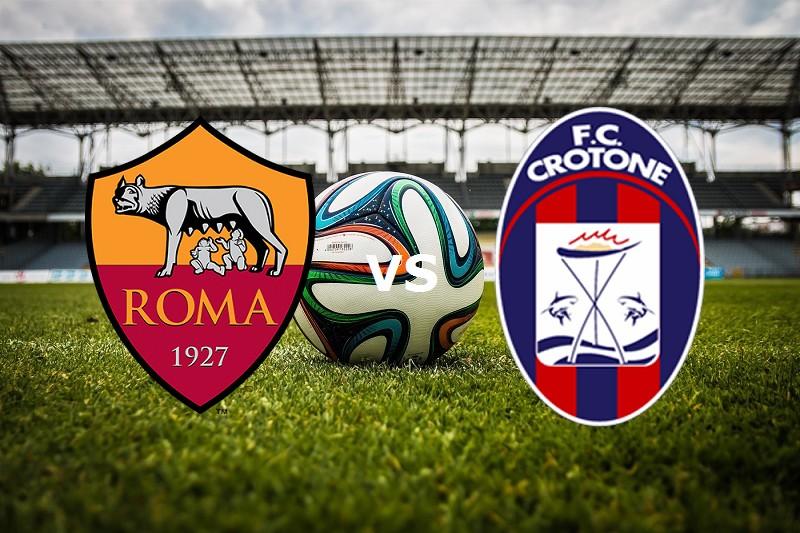 Roma Crotone streaming gratis live. Dove