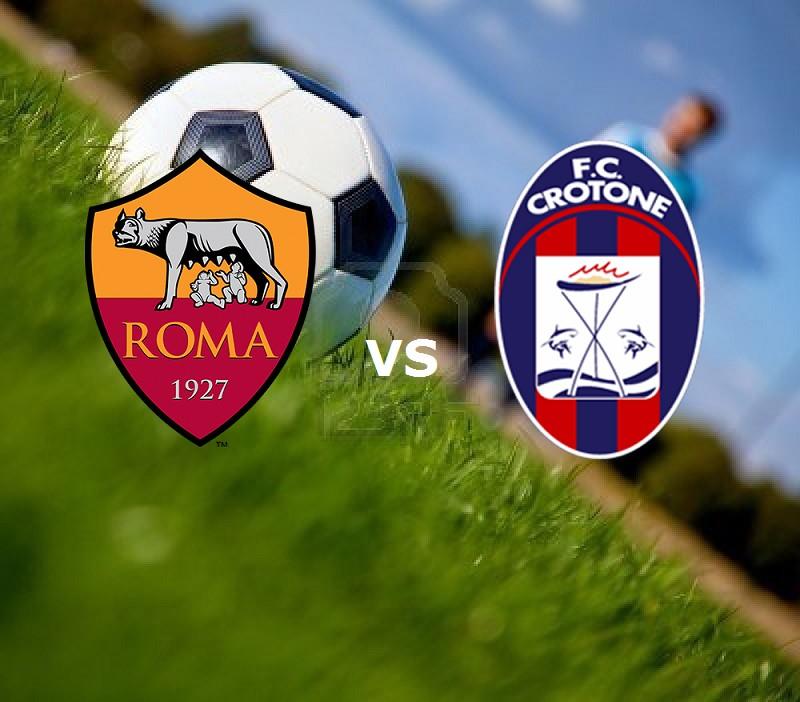 Roma Crotone streaming gratis diretta li