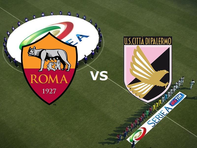 Roma Palermo streaming gratis live diret