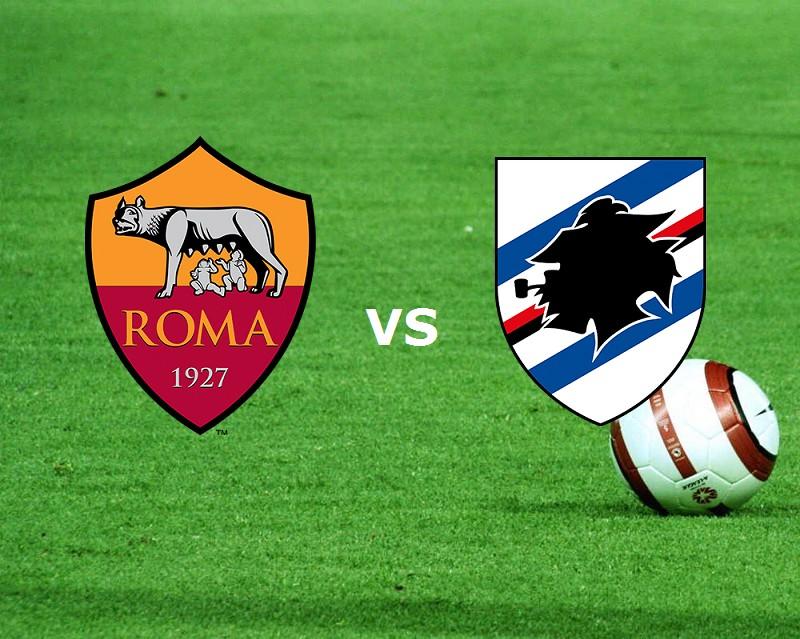 Sampdoria Roma streaming gratis live su