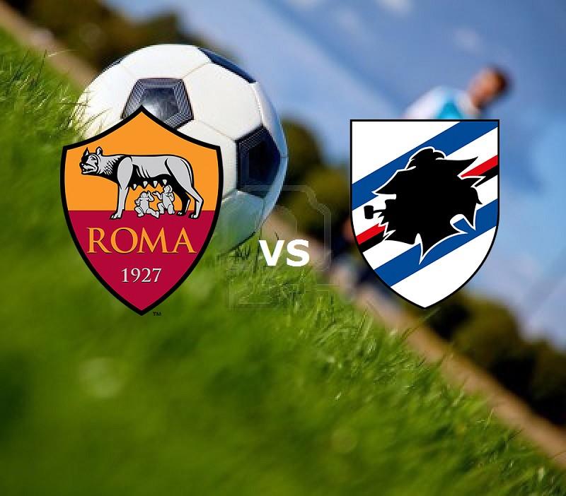 Roma Sampdoria streaming live gratis per