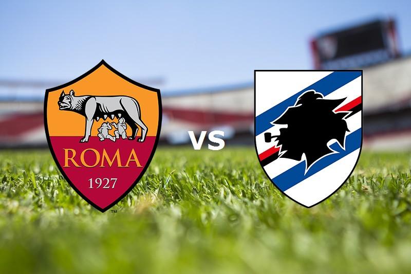 Roma Sampdoria streaming gratis live per