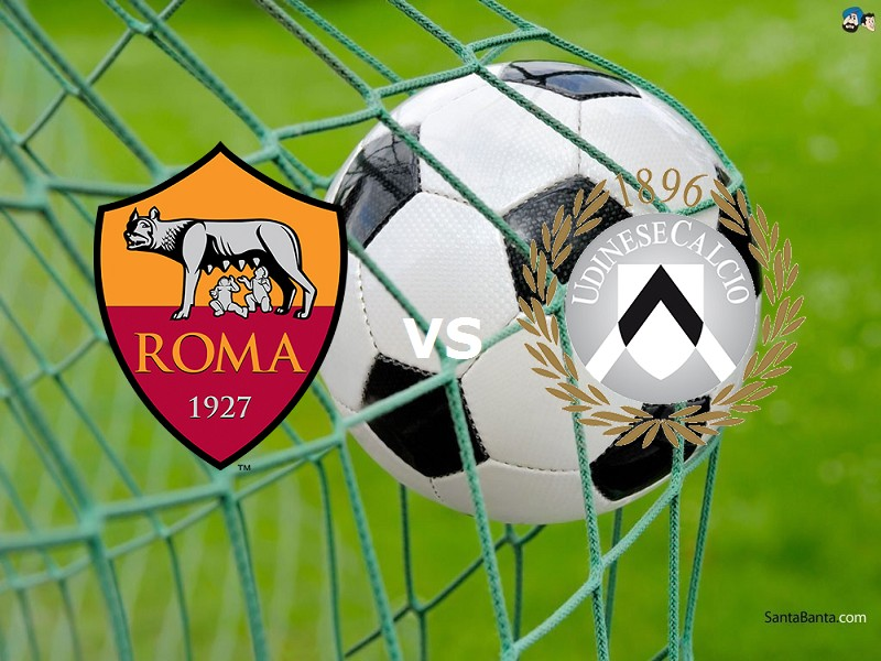 Roma Udinese streaming live gratis su li