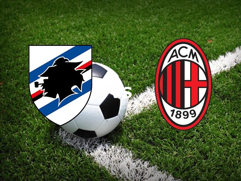 Sampdoria Milan streaming. Vedere su lin