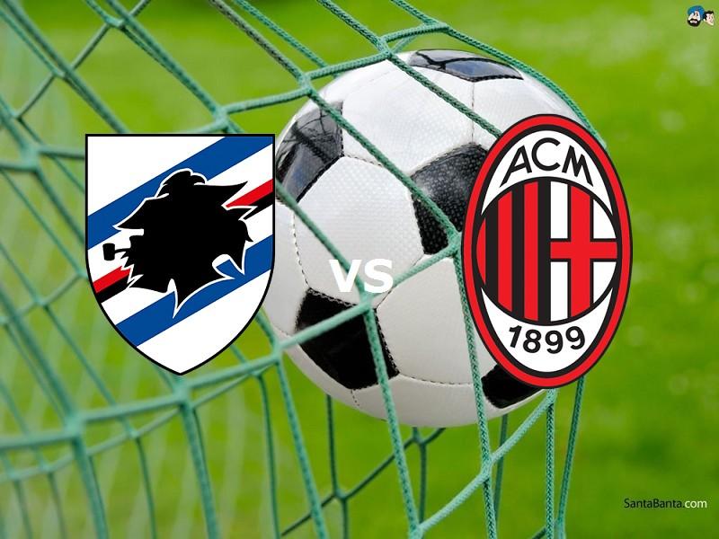 Milan Sampdoria streaming al via su link